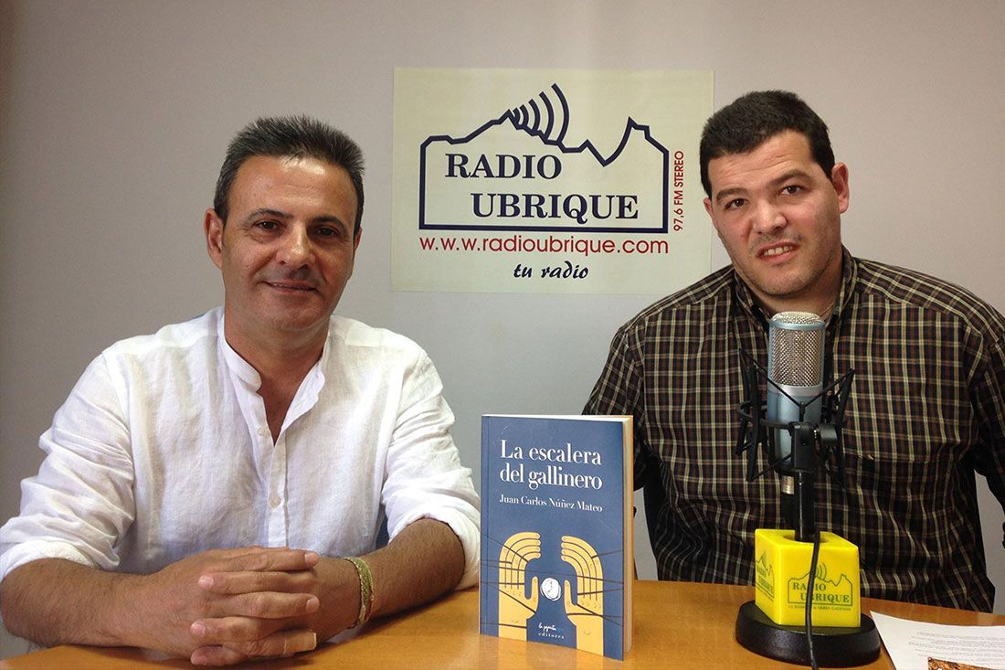 Juan Carlos Núñez y David Sierra en Radio Ubrique