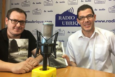 Manuel Ostos y David Sierra en Radio Ubrique